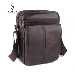 Mужская сумка через плечо (натуральная кожа )