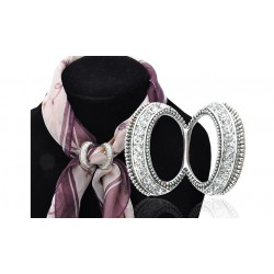Брошь-кольцо для платка