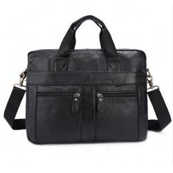 Mужская сумка-портфель ( натуральная кожа, А4 формат )