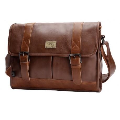 THREE BOX мужская сумка (А4 формат)