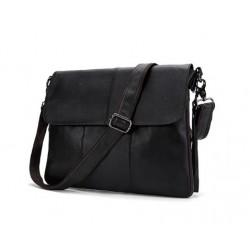 Vīriešu soma pāri plecam ( melna )
