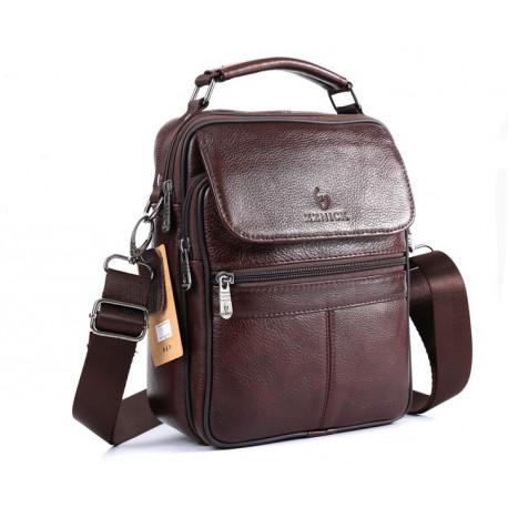 Vīriešu soma (100% dabīga āda)