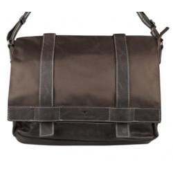 TOM TAILOR мужская сумка из PU кожи и высокопрочной ткани